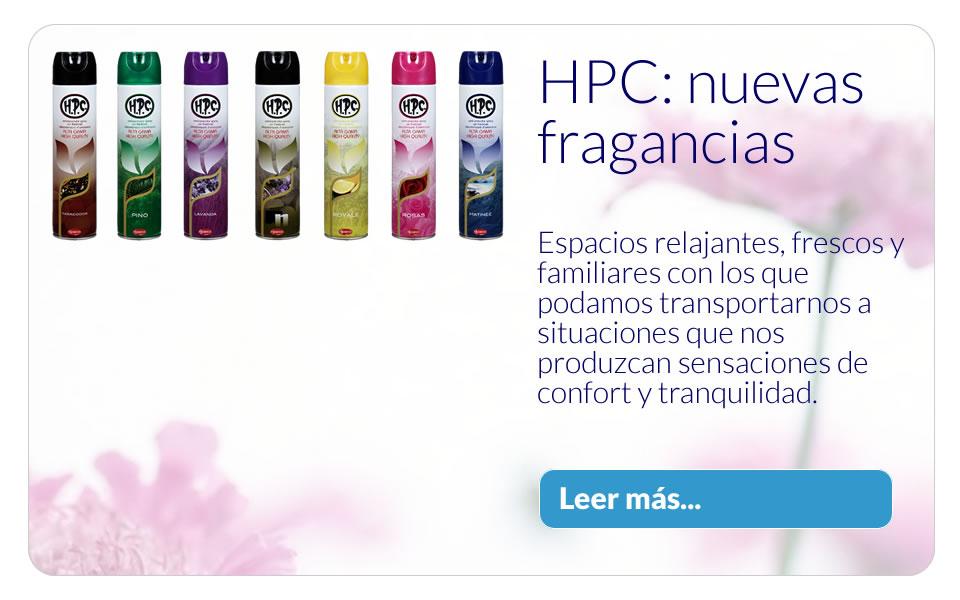 HPC - Nuevas fragancias