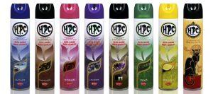 Ambientadores HPC 600 ml